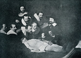 The Anatomy Lesson of Dr. Nicolaes Tulp (Rembrandt, 1632)