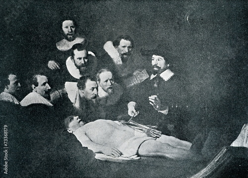 The Anatomy Lesson Of Dr Nicolaes Tulp Rembrandt 1632 Stock
