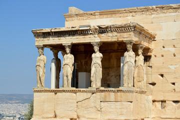 Cariatides Grèce