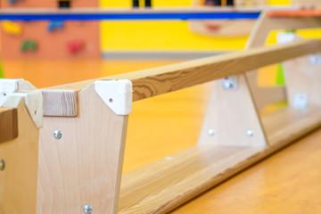 bank upside down in indoor children's playground