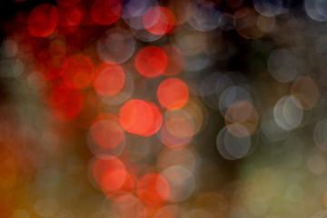 bokeh glitter lights background