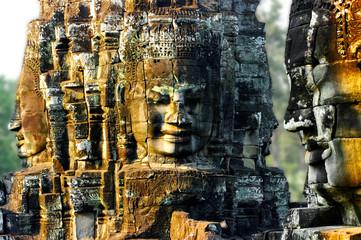 Wall Mural - Bayon temple, Angkor
