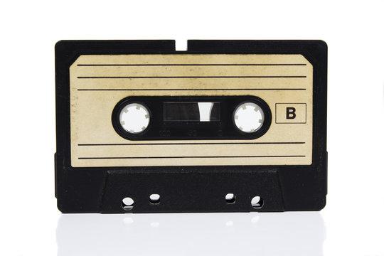 Retro cassette tape