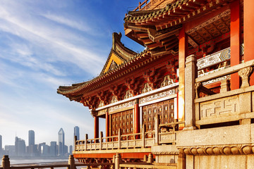Fotobehang Monument ancient Chinese architecture