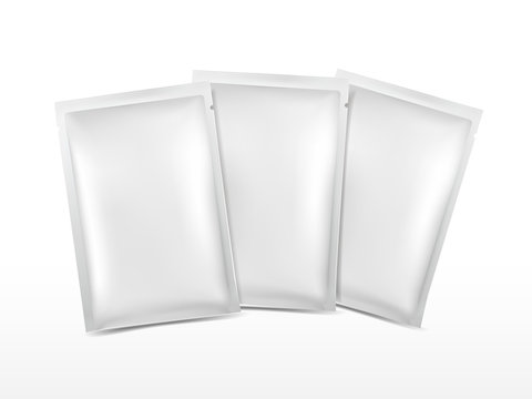 blank plastic package set for cosmetics