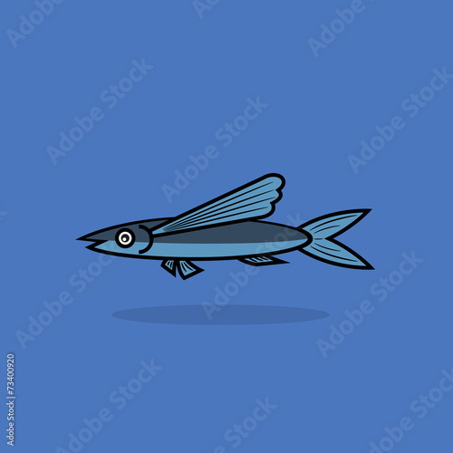 flying fish cartoon - photo #19