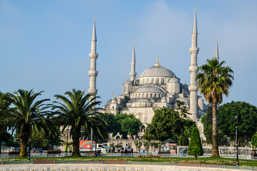 Sultan Ahmed Mosque or Blue Mosque , Istanbul, Turkey