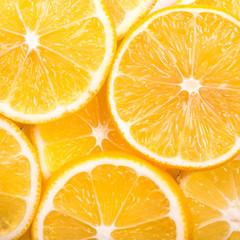 background of lemon slices