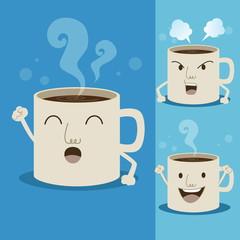 Cup of coffee cartoon