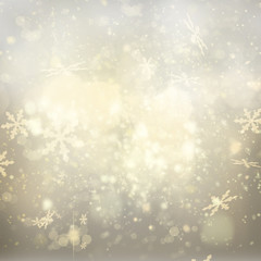 chrismas  background with sparkles