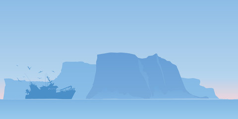 Bateau Peche Iceberg