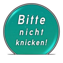 bg19 ButtonGrafik UmschlagButton ub9 - Nicht knick. türkis g2561