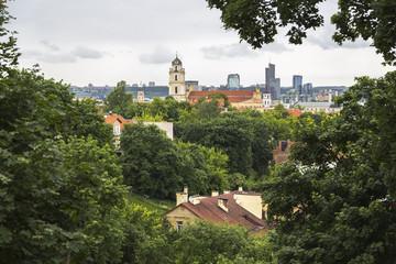 Fototapete - Old Vilnius