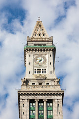 Boston custom house tower, massachusetts - USA