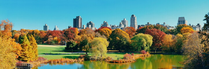 Central Park Autumn - Buy this stock photo and explore