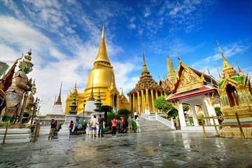 In de dag Bangkok Wat Phra Kaeo, Bangkok, Thailand