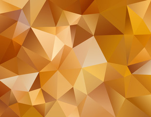 autumn background with triangles shapes