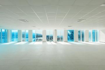 Interior, empty building