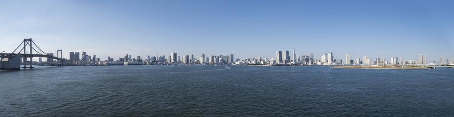 東京湾の風景 港区〜晴海〜豊洲