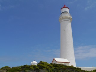 Historic cape Nelson lighthousein Victoria in Australia