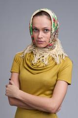 beautiful young Russian girl