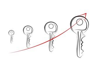 key icon illustration