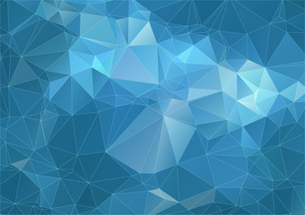 Teal marine triangle Background