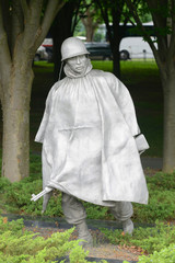 Korean War Veterans Memorial in Washington, District of Columbia