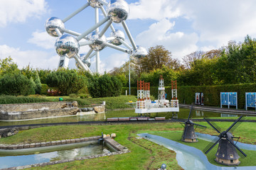 Belgium. Brussel. 27 September 2014.Mini Europe on 27 september,