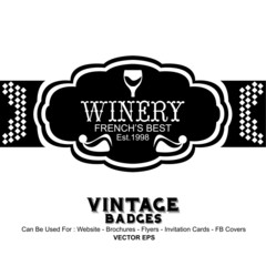 Winery Label Templates