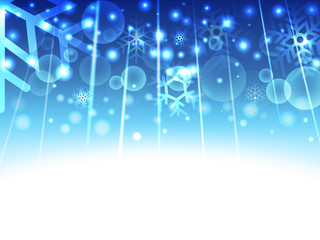 stract background with snowflakes vector illustration