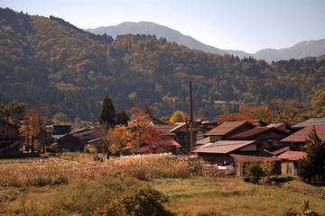 Foto op Aluminium Autumn, Shirakawa-go, Japan
