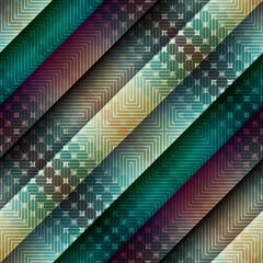 Diagonal abstract geometric pattern.