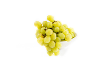 Bowl with white grapes
