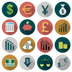 Flat Finance icons
