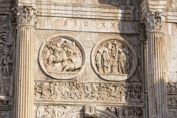 constantine arc in rome