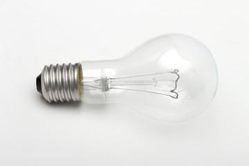 lightbulb on the white background