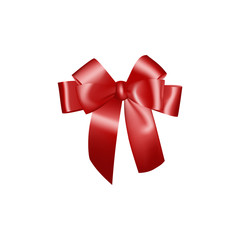 Beautiful Red Bow