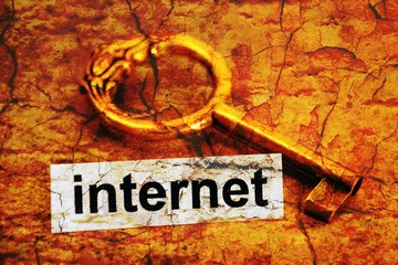 Internet tag and old key