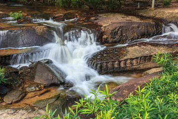 Kbal Spean waterfall national park at Siem Reap Cambodia