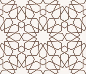 seamless pattern in islamic style