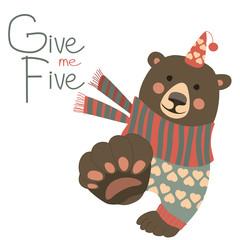 Give me five