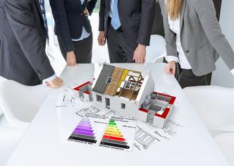 Energy efficient construction meeting