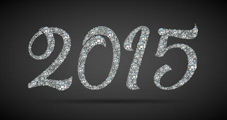Diamond 2015 new year banner