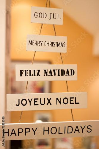 Frohe Weihnachten Schwedisch.Frohe Weihnachten Auf Schwedisch Spanisch Franzosisch
