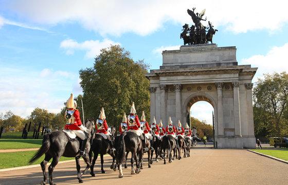 londres caballería cambio de guardia 2506-f14