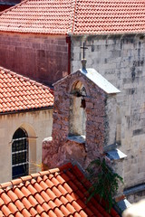 Red roofs of Korcula