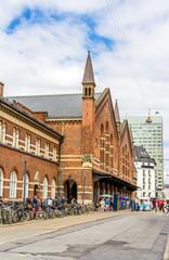 Central railway station of Copenhagen, Denmark
