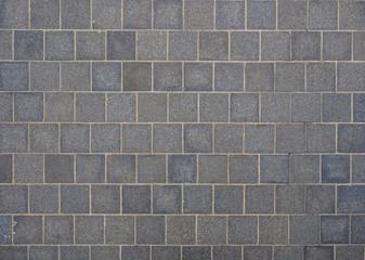 Concrete square pattern road texture background