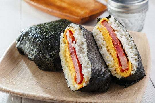 おにぎらず Rice ball Sandwich